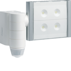 TRE600 LED floodlight vía radio Quicklink,  blanco